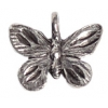 Pendant Butterfly Antique Silver